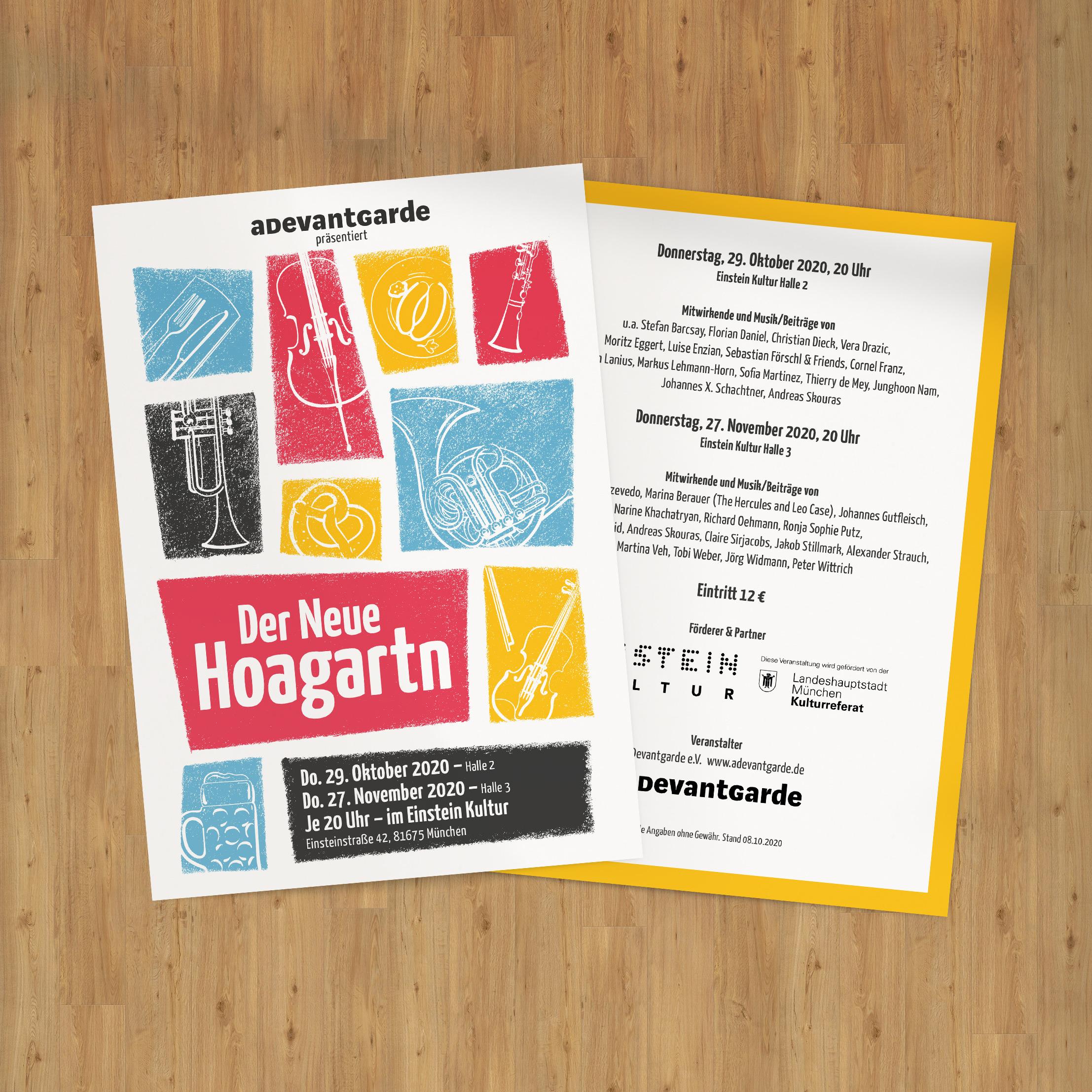 Der Neue Hoagartn // Flyer 1